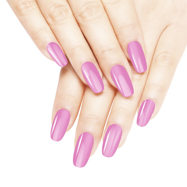 Diamond Double Gel + Nagellack No.18 Cool Pink