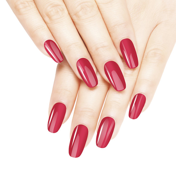 Diamond Double Gel + Nagellack No.63 Cherry