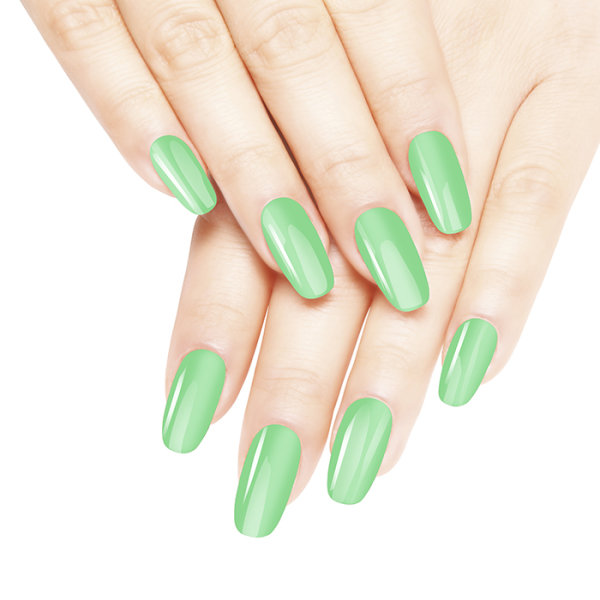 Diamond Double Gel + Nagellack No.85 Jade