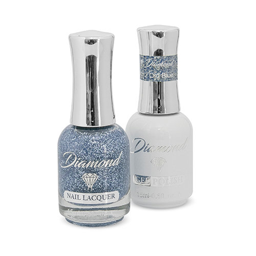 Diamond Double Gel + Nagellack No.112 Old Blue