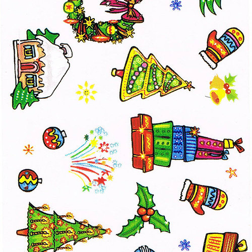 Foliensticker Christmas #16