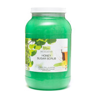 BeBeauty Honey Sugar Scrub Peeling Green Tea Almond 3,78L