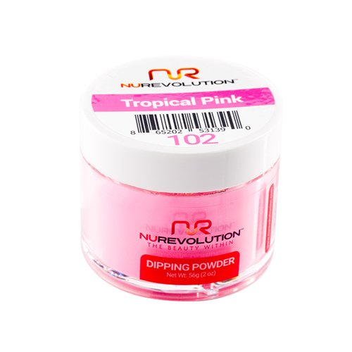 NuRevolution Dipping Powder Nr 102 Tropical Pink 56g