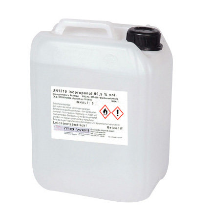 Isopropanol Alcohol 999 5L Cleaner Clear 2190 EUR