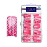 XD Design Nagel Tips 70 Stk. Pinky