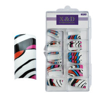 XD Design Nagel Tips 70 Stk. Pop Art
