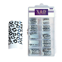 XD Design Nagel Tips 70 Stk. Panda