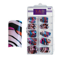 XD Design Nagel Tips 70 Stk. Marble