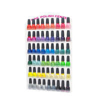 Nagellack Wandregal Nail Polish Display 60er