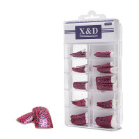 XD Design Nagel Tips 70 Stk. Pink Wildcat