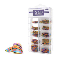 XD Design Nagel Tips 70 Stk. Colourful