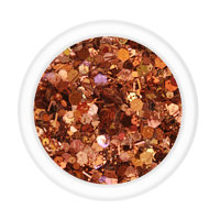 Glittermix - Ocher Brown Autumn Leaves 14g