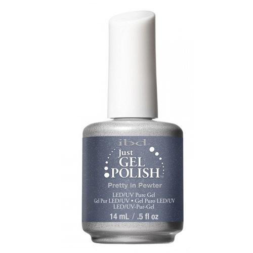ibd Just Gel Polish Pretty in Pewter 14ml