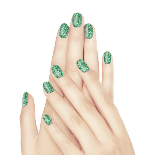 maiwell Beauty Acrylfarben Green Glitter