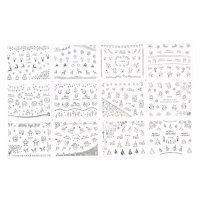Christmas Nailsticker Set 10
