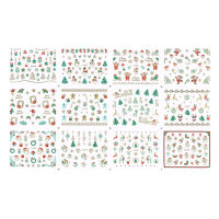 Christmas Nailsticker Set 13