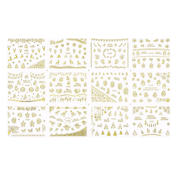 Christmas Nailsticker Set 15