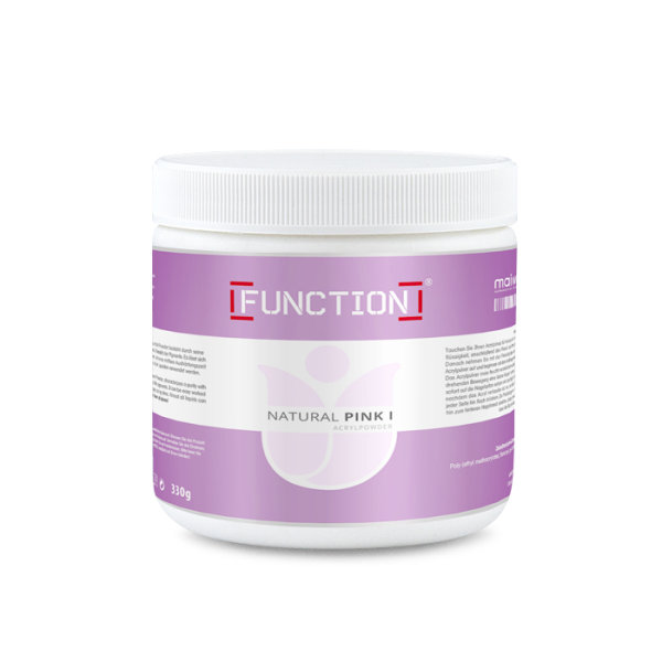Function Acryl Powder Natural Pink I 330g