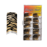 Design Nagel Tips - Pro Fashion Copper