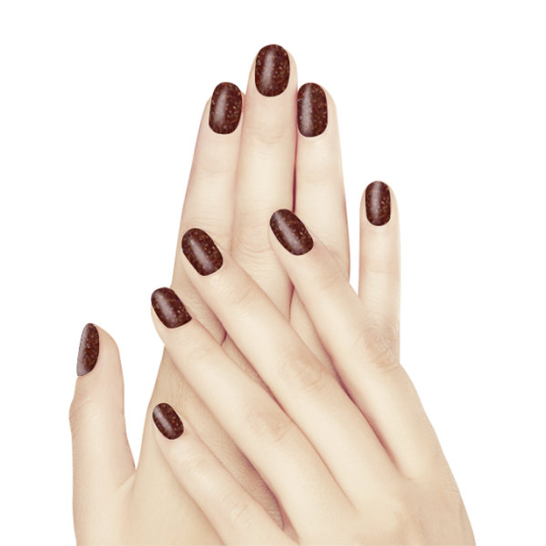 Glam & Glits Naked Acryl - Roasted Chestnut
