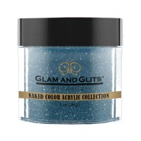 Glam & Glits Naked Acryl - Teal Me In