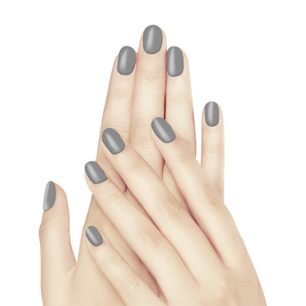 Glam and Glits Naked Acryl - Gray Gray