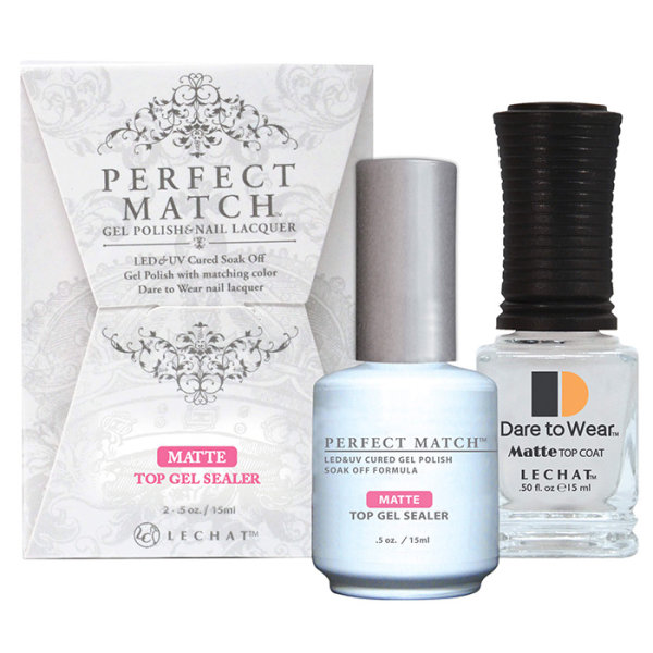 LeChat Perfect Match - Matte Top Gel Sealer 15ml