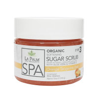 La Palm Sugar Scrub Peeling Orange Tangerine Zest 340g