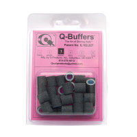 Q Buffers No. 3 Medium 35 Stk. Schwarz