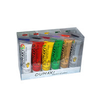 Oumaxi One Stroke Acrylfarbe 12 Farben Set 22 ml