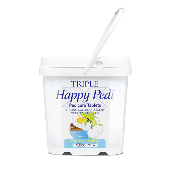 Triple X Happy Pedi Salz Tablets Honolulu 3,5Kg 5000 Stk. S