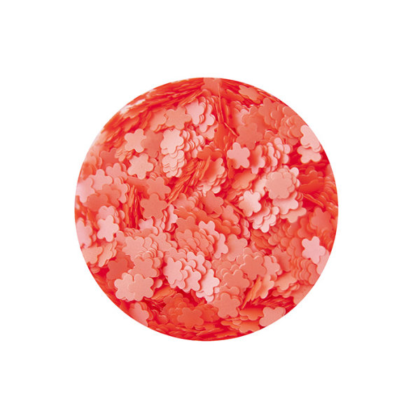 Deko für Nägel Blossom Dots #25 Rot-Orange 15g